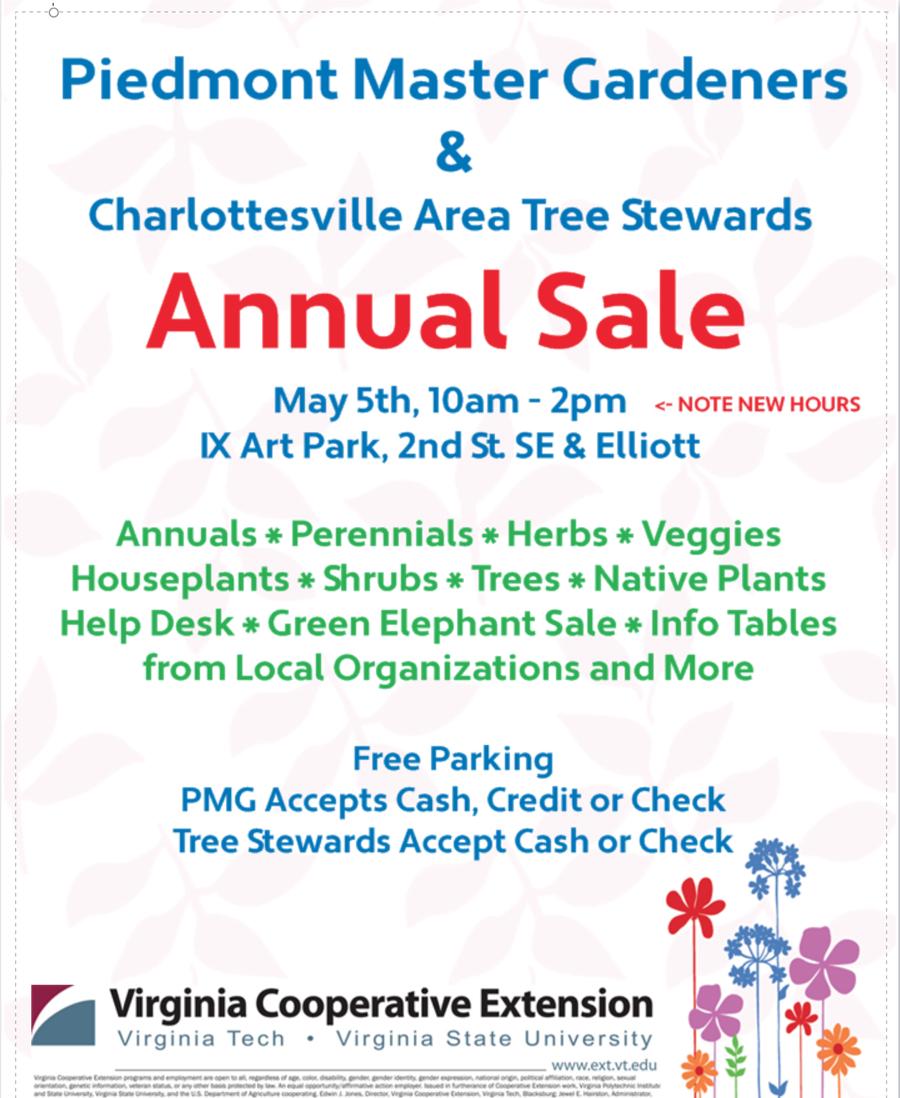 2018 Spring tree sale